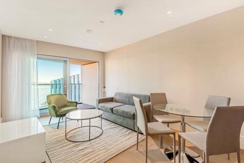 No.3, Upper Riverside, Cutter Lane, Greenwich Peninsula, SE10. 1 bedroom apartment