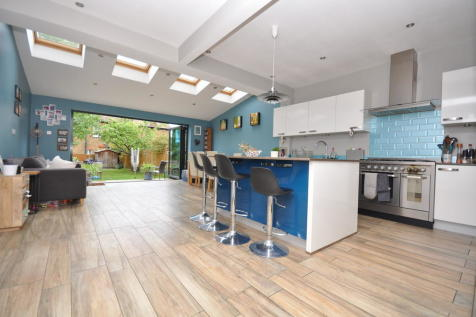Douglas Road, Surbiton. 4 bedroom end of terrace house