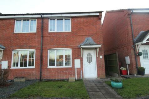 Ashby Road, Coalville, LE67. 2 bedroom semi-detached house