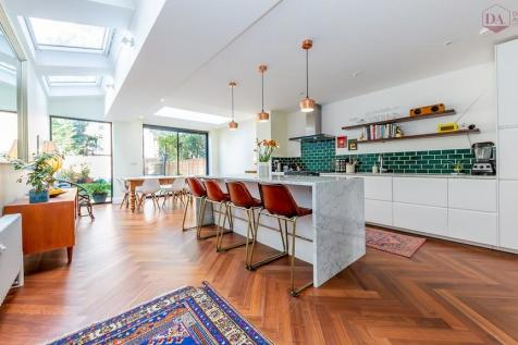 Rathcoole Gardens, Crouch End N8. 4 bedroom terraced house for sale