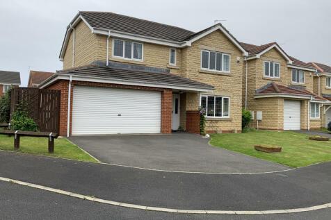 Wetherby Close, Ashington, NE63. 4 bedroom detached house for sale