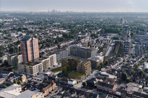Wood Street, Walthamstow, E17 3HX. 1 bedroom apartment for sale