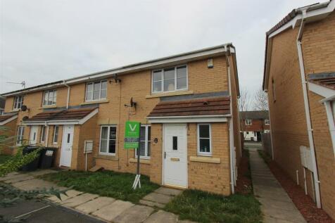 Blackmoor Close, Darlington. 3 bedroom end of terrace house