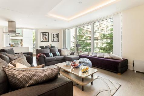Radnor Terrace, London, W14. 2 bedroom flat for sale