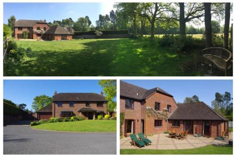 The Firs, Inkpen, Hungerford, Berkshire, RG17. 5 bedroom detached house