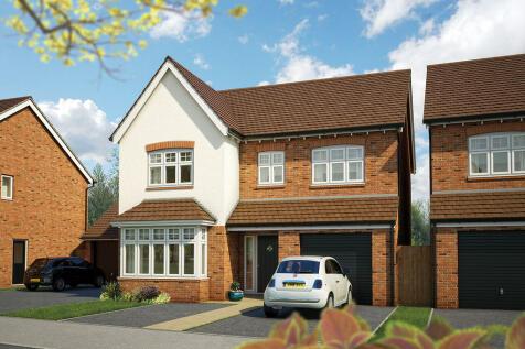 Crewe Road, Haslington, CW1. 4 bedroom detached house for sale