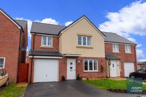 Jade Close, Kings Down, Bridgwater. 4 bedroom detached house for sale