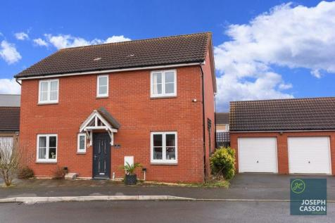 Ivory Road, Stockmoor Village, Bridgwater. 4 bedroom detached house for sale