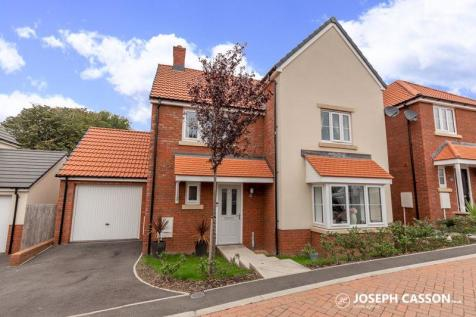 Cherrywood Close, Bridgwater. 4 bedroom detached house for sale