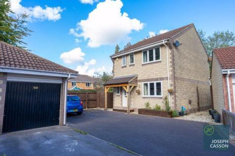 Peach Tree Close, Bridgwater. 3 bedroom detached house for sale