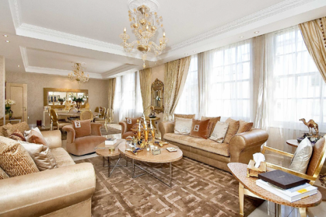 Portman Square, London, W1H - Flat / 5 bedroom flat for sale / £6,950,000