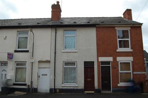 Moss Street, Derby. 2 bedroom terraced house