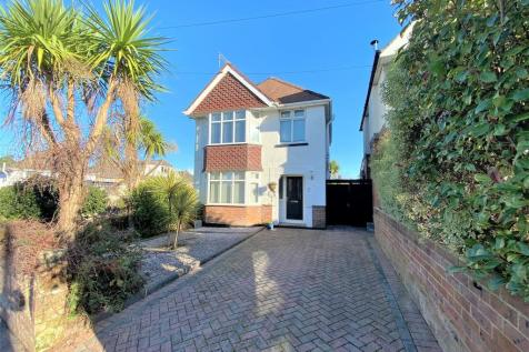 Branksome, Poole, Dorset, BH12. 3 bedroom detached house for sale