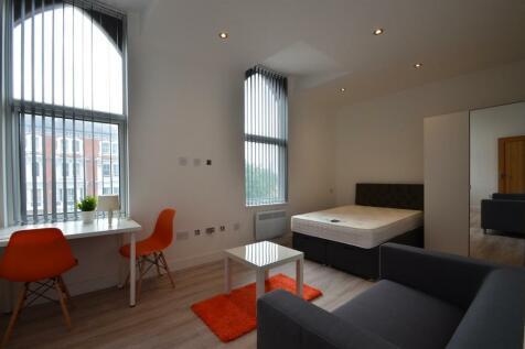 London Road, Leicester. Studio flat