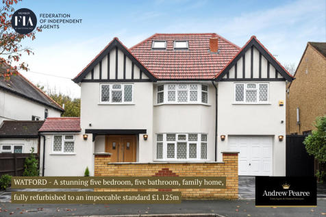 Oxhey Road, Watford. 5 bedroom detached house for sale