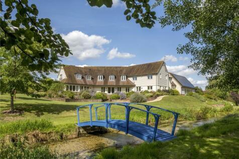 Monxton, Andover, Hampshire, SP11. 5 bedroom detached house