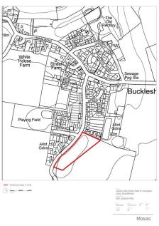 Land South East Of Levington Lane, Bucklesham, Ipswich, Suffolk, IP10 0DZ. Land for sale