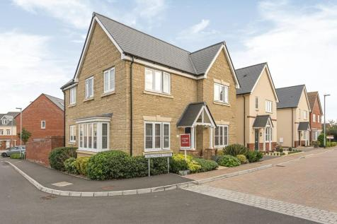 Hollyhock Close, Bridgwater. 4 bedroom detached house for sale