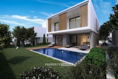 Paphos, Emba. 4 bedroom detached villa
