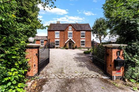 Church Farm, Station Road, Leicester, Leicestershire, LE9. 7 bedroom detached house for sale