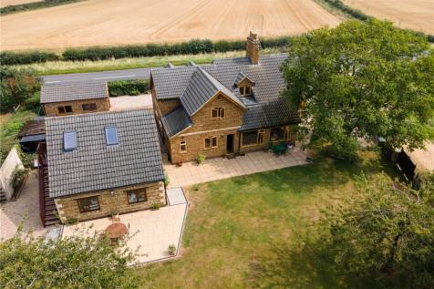Uppingham Road, Caldecott, Market Harborough, Rutland, LE16. 5 bedroom detached house for sale