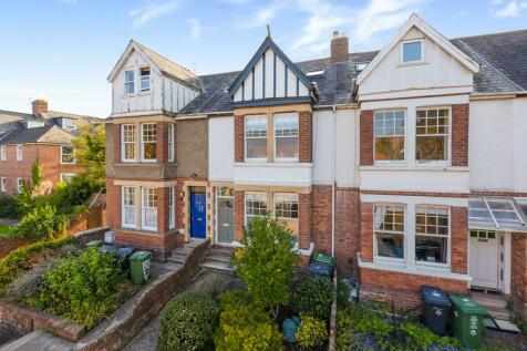 Denmark Road, Exeter. 4 bedroom terraced house for sale