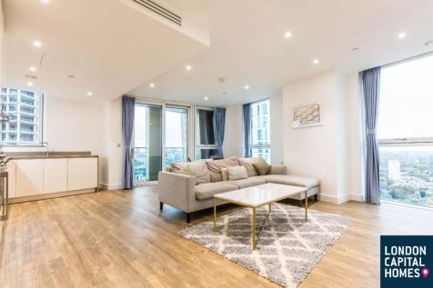 Modern 2 Bed 2 Bath in Gladwin Tower, Nine Elms. 2 bedroom apartment
