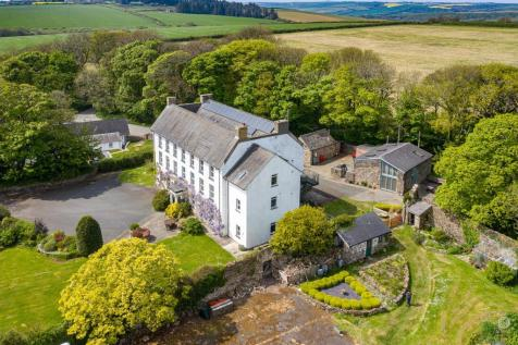 Cuffern, Roch, Pembrokeshire. 12 bedroom detached house for sale