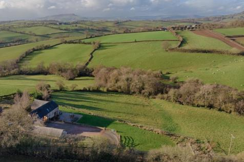 Green Duffryn Barn, Newcastle, NP25. 5 bedroom barn conversion for sale