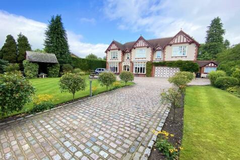 Sandhurst, Wrexham Road. 6 bedroom detached house for sale