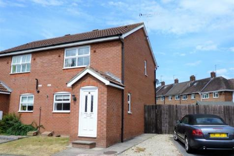 KINGS CRESCENT, HEREFORD. 2 bedroom semi-detached house