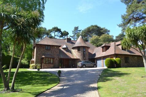 Bury Road, Branksome Park, Poole. 5 bedroom detached house
