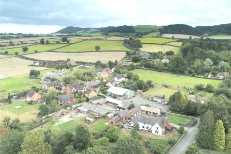 Clungunford Farm House, Clungunford, Craven Arms, Shropshire. 5 bedroom detached house for sale