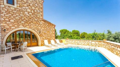 Margarites, Rethymnon, Crete. 4 bedroom villa for sale