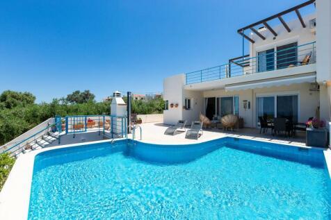 Agia Triada, Rethymnon, Crete. 4 bedroom villa for sale