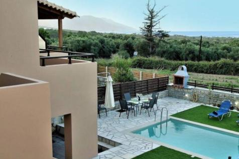 Kournas, Chania, Crete. 3 bedroom semi-detached house for sale