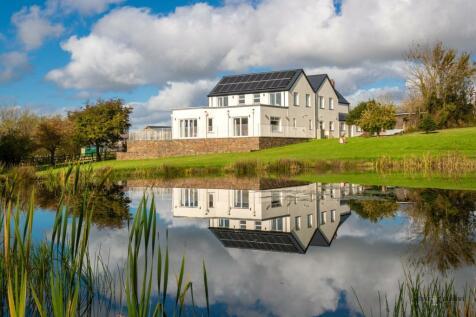 Laurel Hill Farm, Llangwm, Haverfordwest, Haverfordwest, SA62. 6 bedroom detached house for sale