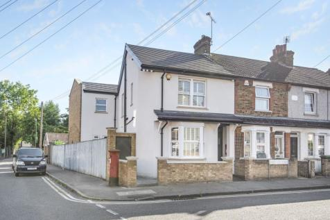 Warwick Road Sidcup DA14. 4 bedroom end of terrace house