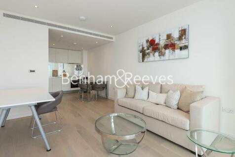 Wandsworth Road, Nine Elms, SW8. 1 bedroom apartment