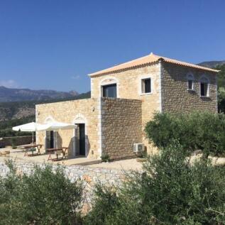 Corinthian Gulf, Peloponnese. 3 bedroom villa