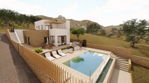 Greece. 3 bedroom villa
