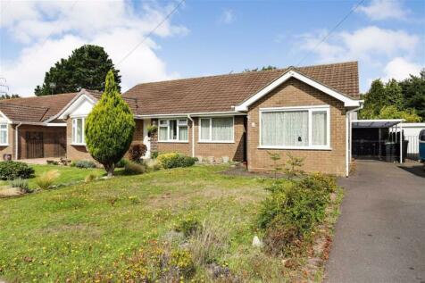 Highcliffe. 2 bedroom semi-detached bungalow