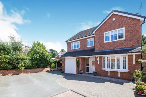 Limes Close, Haslington, Crewe, Cheshire, CW1. 5 bedroom detached house for sale