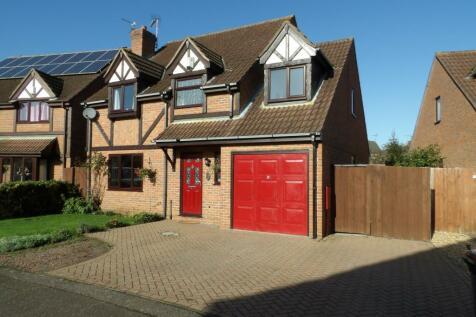 Foxdale, Peterborough, Cambridgeshire, PE1. 4 bedroom detached house for sale