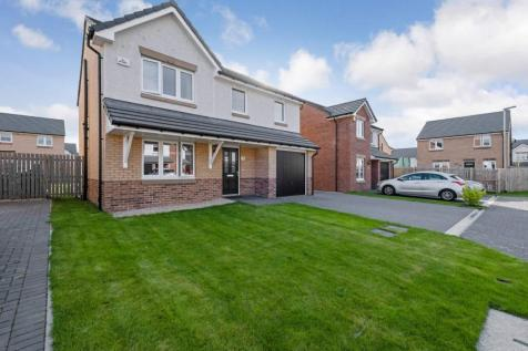 Track Drive, Uddingston, Glasgow, North Lanarkshire, G71. 4 bedroom detached house