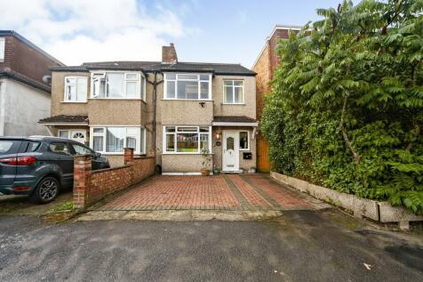 St. Albans Road, Cheam, Sutton, Surrey, SM1. 4 bedroom semi-detached house