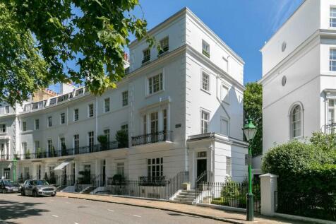 Egerton Crescent, London, SW3. 6 bedroom end of terrace house for sale
