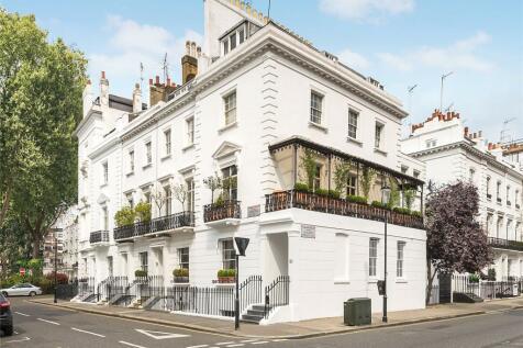 Ovington Square, London, SW3. 6 bedroom end of terrace house for sale
