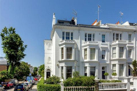 Argyll Road, Kensington, London, W8. 5 bedroom end of terrace house for sale