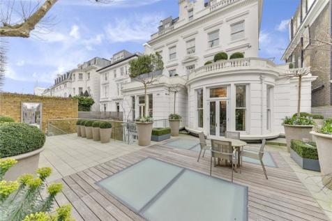 Upper Phillimore Gardens, London, W8. 10 bedroom detached house for sale